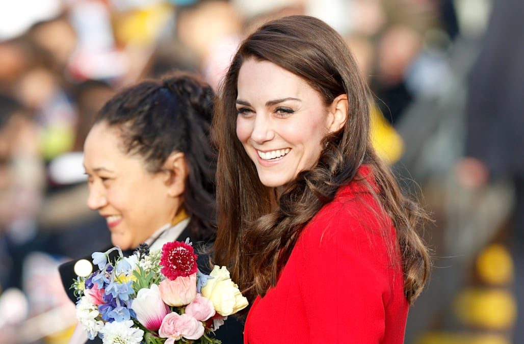 Kate Middleton reveals life lesson she learned from an 11-year-old girl 5c7f53655