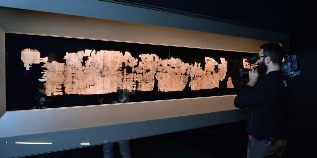 Papiro di Artemidoro, per la procura di Torino è un falso. M