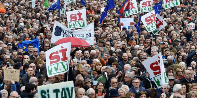 Manifestazione Sì Tav