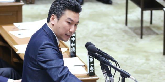 衆議院予算委員会で質問する自民党の橋本岳氏=2月26日、国会内