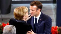 Macron met la pression sur Merkel pour réformer