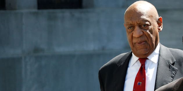 Actor and comedian Bill Cosby exits Montgomery County Courthouse after a jury convicted him in a sexual assault retrial in Norristown, Pennsylvania, April 26, 2018.