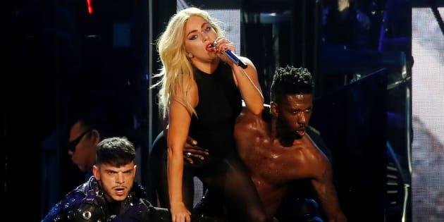 Lady Gaga au festival Coachella en avril 2017. Atteinte de fibromyalgie, elle devrait faire son retour sur scène début 2018.