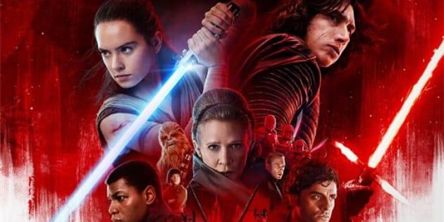 Star Wars: Os Últimos Jedi (Star Wars: The Last Jedi, 2017).