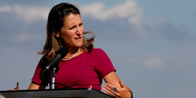 Chrystia Freeland: North Korea Missile Test 'Reckless' Violation Of Japan's Sovereignty