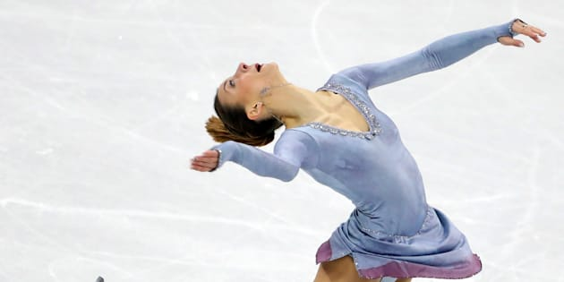 Figure Skating - Pyeongchang 2018 Winter Olympics - Women Single Skating free skating competition final - Gangneung Ice Arena - Gangneung, South Korea - February 23, 2018 - Nicole Schott of Germany competes. REUTERS/Lucy Nicholson