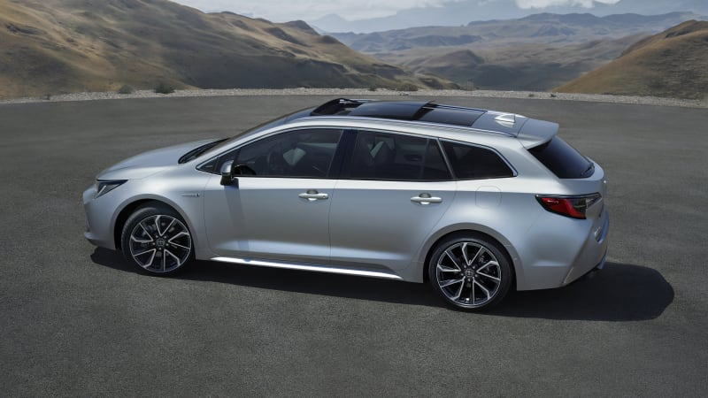 This Is The Wagon Version Of The 2019 Toyota Corolla Autoblog