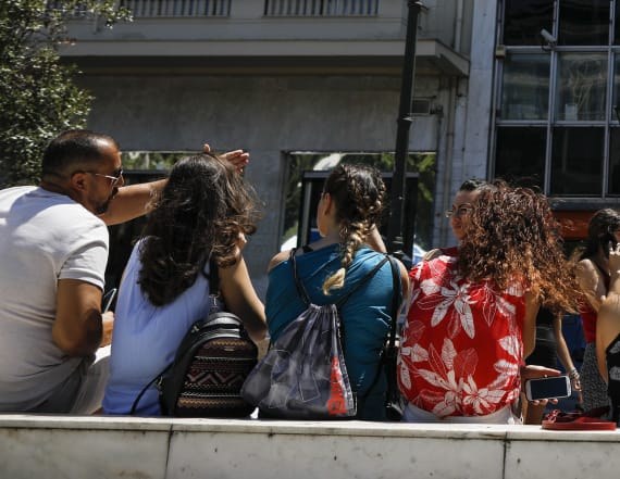 Panic after strong quake hits near Athens, Greece