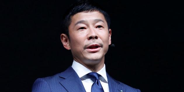 Yusaku Maezawa à Tokyo au mois de juin.