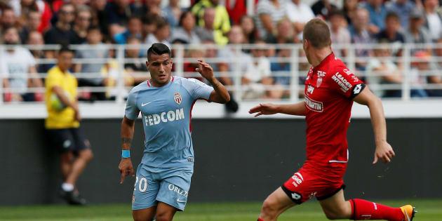 L'équipe de Dijon affrontait en Ligue 1 l'équipe de Monaco le 13 août 2017 (photo d'illustration)