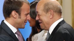 Le Drian officialise son soutien à