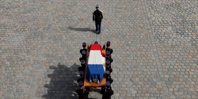 L'hommage national rendu à Simone Veil le 5 juillet 2017.