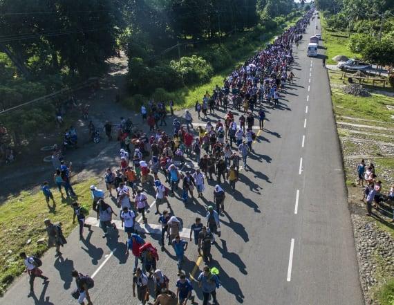 Trump calls migrant caravan a national emergency