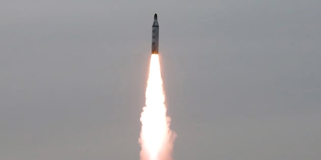 La Corée du Nord a tiré un nouveau missile balistique