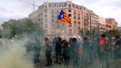 Gli indipendentisti catalani irrompono nella sede della