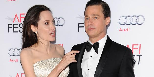 """Angelina Jolie al figlio Pax: """"Tuo padre Brad Pitt non"""