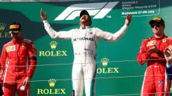 Hamilton va en serio: Se lleva el Gran Premio de