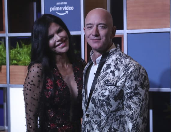 Bezos photos were from texts to Sanchez brother