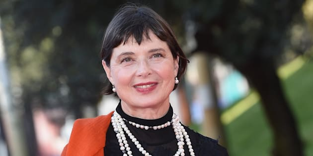 ROME, ITALY - OCTOBER 16:  Isabella Rossellini walks the red carpet during the 10th Rome Film Fest at Auditorium Parco Della Musica on October 16, 2015 in Rome, Italy.  (Photo by Venturelli/WireImage)