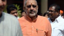 Giriraj Singh's Statement On Mass Sterilisation His Personal Opinion, Says