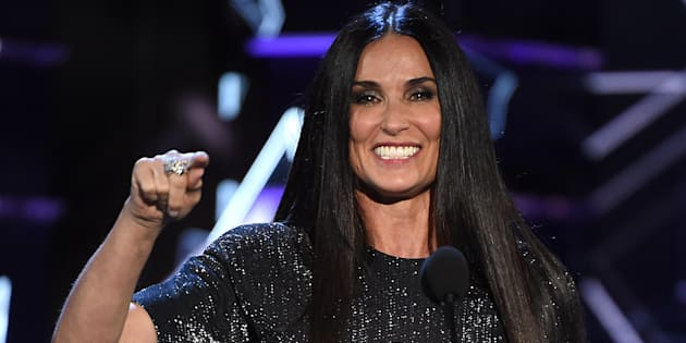 Demi Moore en 'Comedy Central Roast'.