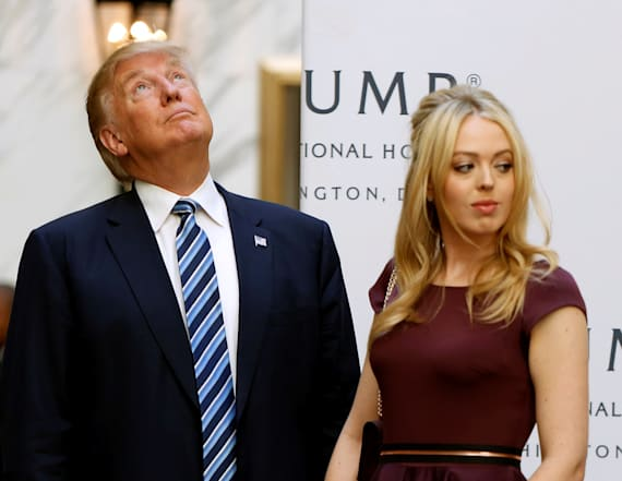 Tiffany Trump subject of joke about father's tweets