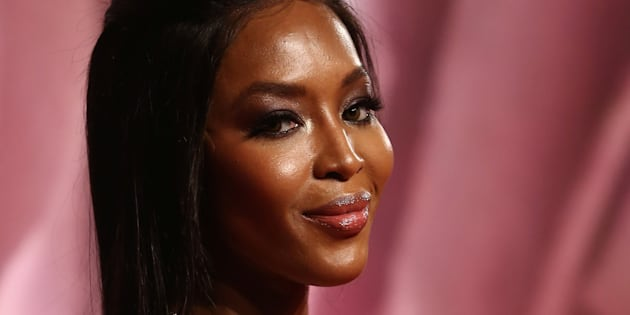 Naomi Campbell au British Fashion Awards 2016