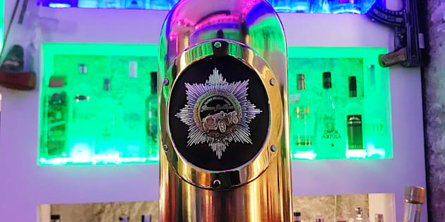 """La bouteille de vodka """"la plus chère du monde"""", volée au Danemark, retrouvée vide."""
