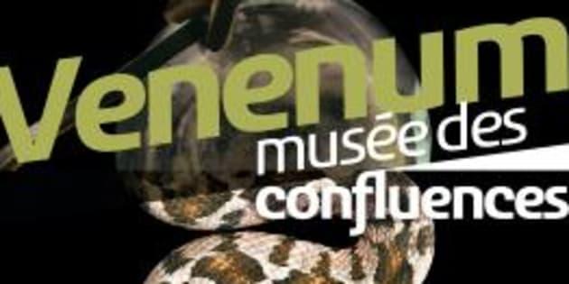 """L'affiche de l'exposition """"Venenum"""" au musée des Confluences à Lyon."""
