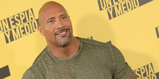MADRID, SPAIN - JUNE 07:  Dwayne Johnson attends a photocall for 'Un Espia y Medio' (Central Intelligence) at the Villamagna Hotel on June 7, 2016 in Madrid, Spain.  (Photo by Fotonoticias/FilmMagic)