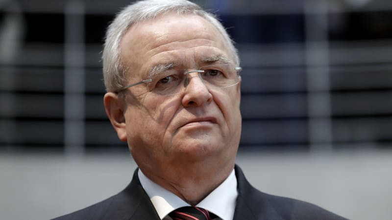 photo of VW former CEO Martin Winterkorn charged with fraud in diesel scandal image
