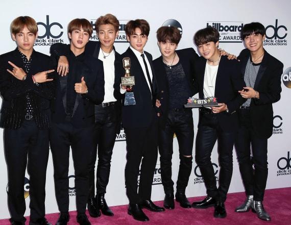 BTS makes waves at BBMAs