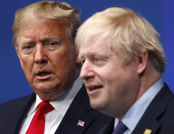 Trump is heading for a major clash with Johnson