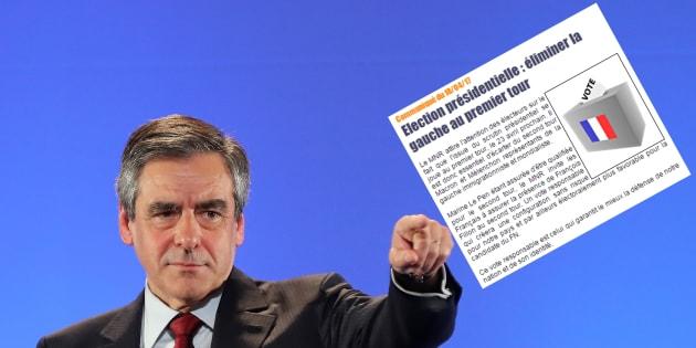 Le parti d'extrême droite MNR appelle à voter Fillon (mais ce n'est pas contre Le Pen)