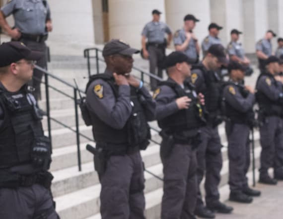 Workers refuse to make food for state troopers