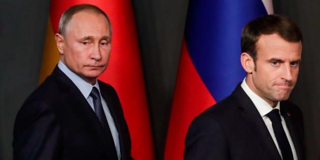 """""""Si Emmanuel Macron veut que l'Europe assume de défendre sa sécurité et ses intérêts, alors l'UEdoit exiger la libération des marins retenus et dénoncer les activités de Moscou."""""""