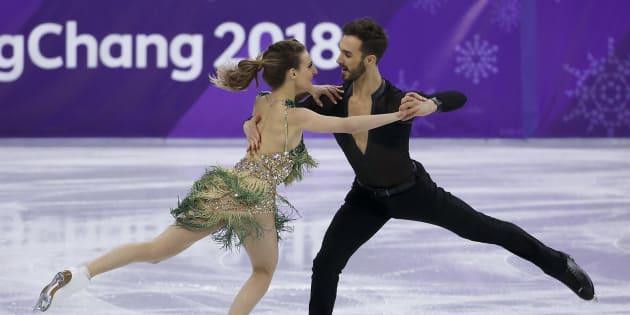 Jeux olympiques d'hiver 2018, le 19 février 2018: Gabriella Papadakis et Guillaume Cizeron