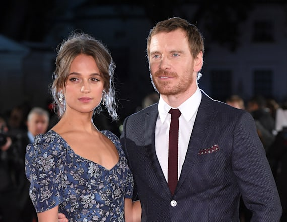 Michael Fassbender and Alicia Vikander are married!
