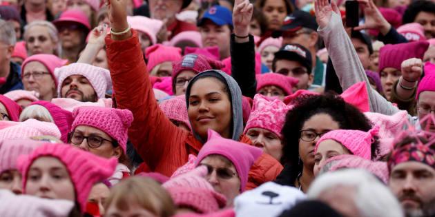 """En organisant une grève générale, la """"Marche des Femmes"""" veut prendre Donald Trump à son propre piège"""