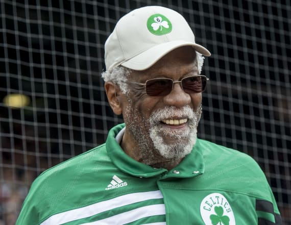 NBA legend Bill Russell opens up to Russell Wilson