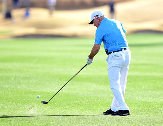 One-armed golfer makes hole-in-one at PGA Tour event