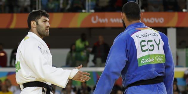 Geopolitics trumps sportsmanship in one judo match.