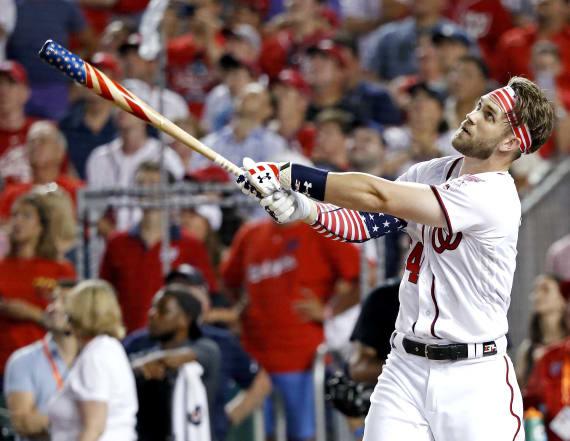 Bryce Harper wins 2018 MLB Home Run Derby