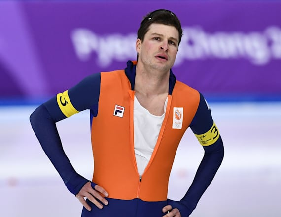 Gold medalist apologizes for injuring fans at party