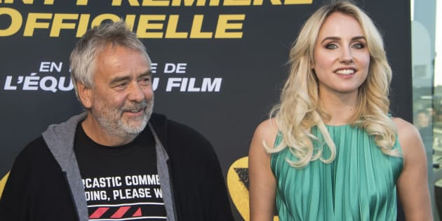"""Sand Von Roy, l'actrice qui accuse Luc Besson (ici aux Pennes-Mirabeau en avril) de viol: """"Je sentais que ma vie était en danger""""."""