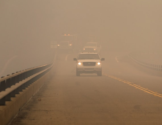 Report: Smoke from Calif. wildfires reach East Coast