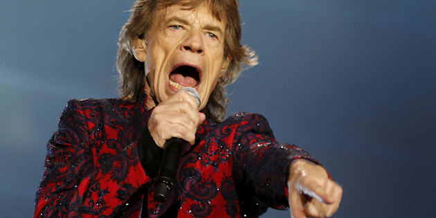 "Mick Jagger of The Rolling Stones sings during their ""Latin America Ole Tour"" at the Foro Sol in Mexico City, Mexico March 14, 2016. REUTERS/Henry Romero"