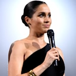 Visibly Pregnant Meghan Markle Makes A Surprise Awards Show