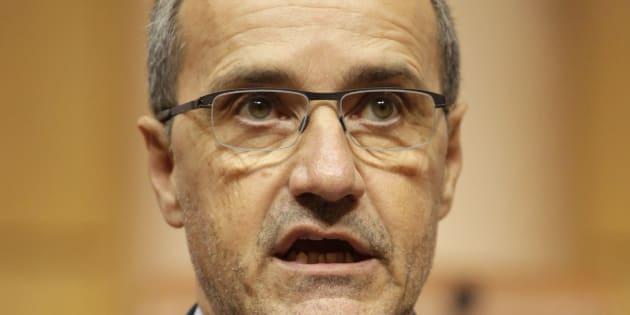 Corse: Jean-Guy Talamoni ne participera pas à l'hommage rendu par Emmanuel Macron au préfet Érignac