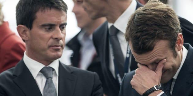 Valls dément s'apprêter à appeler à voter Macron